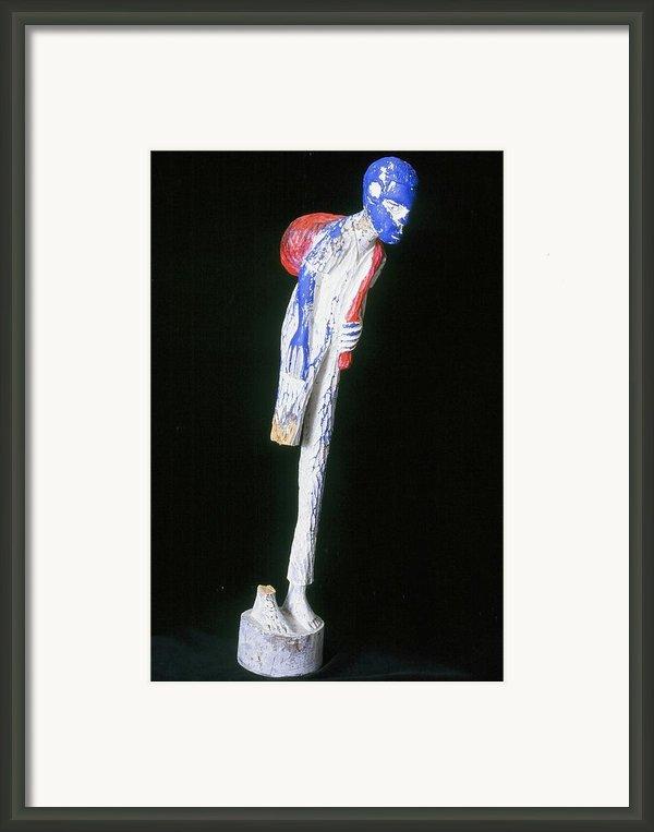 Hardened Framed Print By Iris Gill