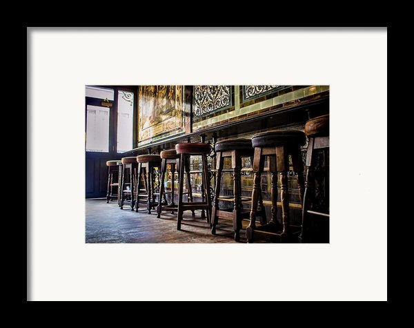 Have A Seat Framed Print By Heather Applegate
