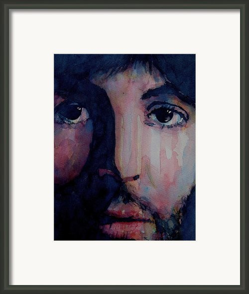 Hey Jude Framed Print By Paul Lovering