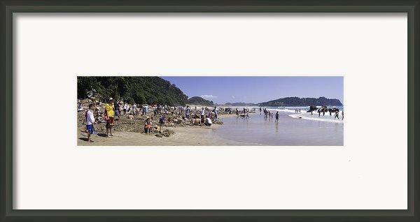 Hot Water Beach Framed Print By Tim Mulholland