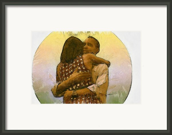In Love Framed Print By Anthony Caruso