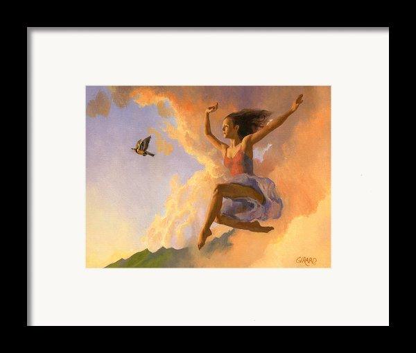 Inspiration Framed Print By Francois Girard