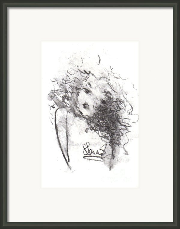 Just Me Framed Print By Laurie D Lundquist