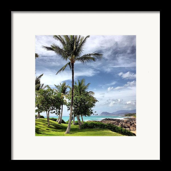Ko Olina Lagoon Framed Print By Gary Smith