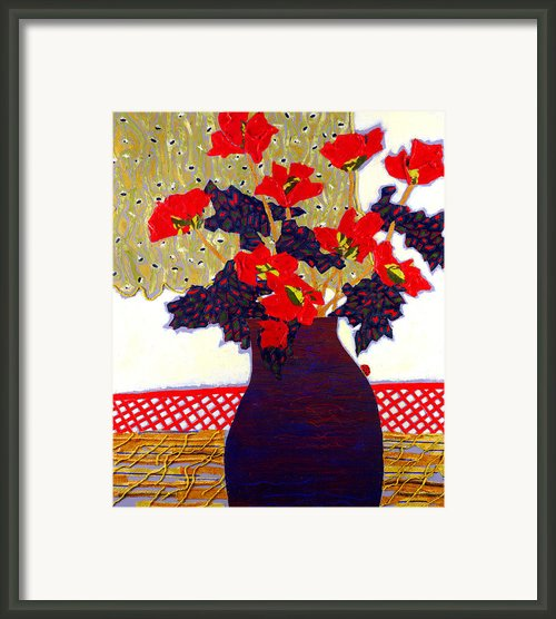 Lady Bug Framed Print By Diane Fine