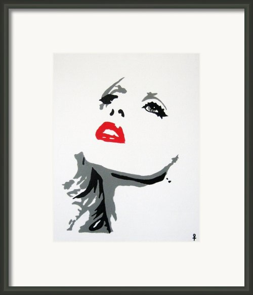 Lady Gaga Framed Print By Venus