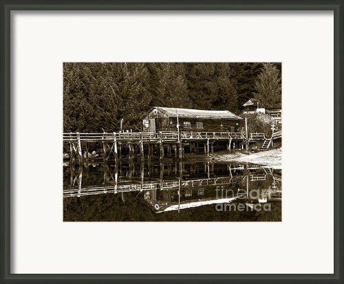 Lagoon Cove Framed Print By Robert Bales