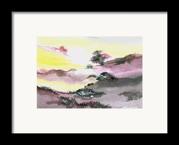 Landscape 1 Framed Print By Anil Nene