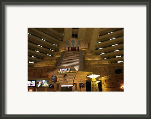 Las Vegas - Luxor Casino - 12126 Framed Print By Dc Photographer