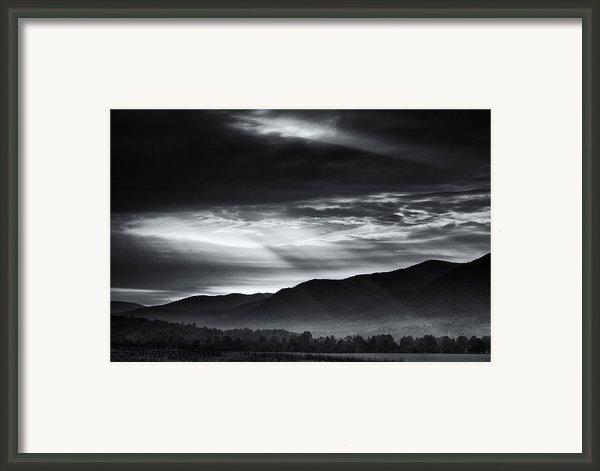 Light From Above Framed Print By Andrew Soundarajan