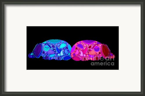 More Puppy Love Framed Print By Nick Gustafson