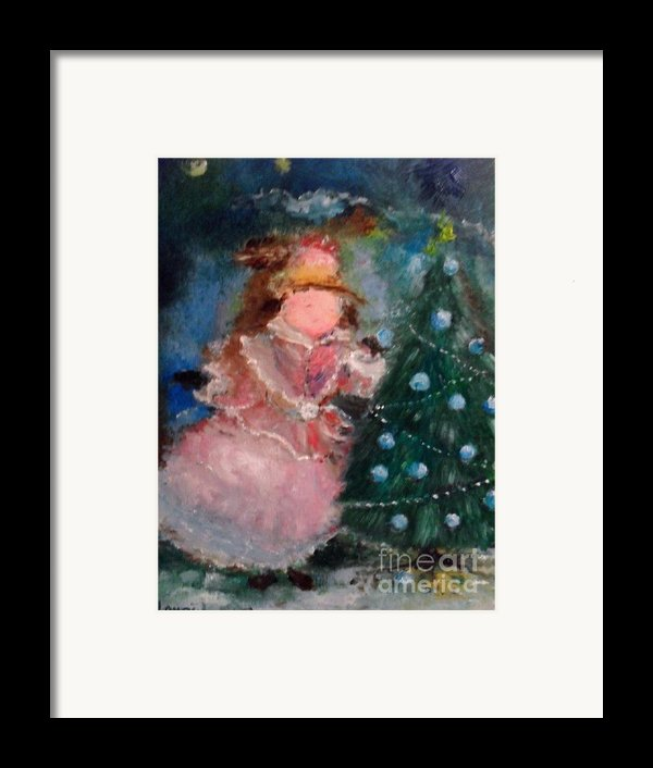 Mother Christmas Framed Print By Laurie D Lundquist