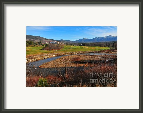 Mount Washington Framed Print By Catherine Reusch  Daley