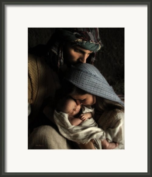 No Greater Gift Framed Print By Helen Thomas Robson
