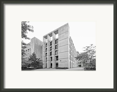 Northwestern University Kellogg School Of Management Framed Print By University Icons
