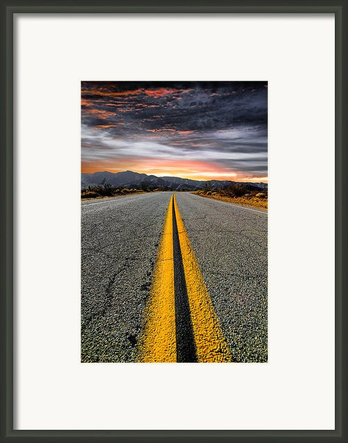 On Our Way Framed Print By Ryan Hartson-weddle