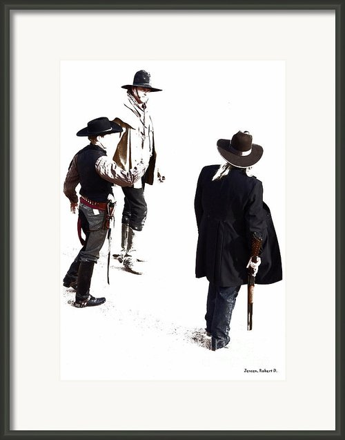 One Moment Framed Print By Robert Jensen