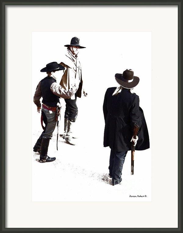 One Moment Framed Print By Robert Jensen