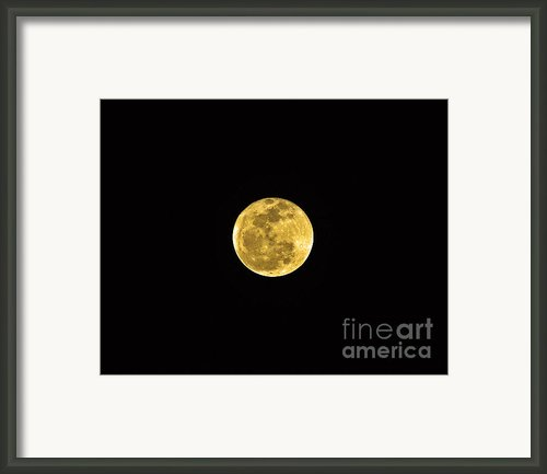 Passover Full Moon Framed Print By Al Powell Photography Usa