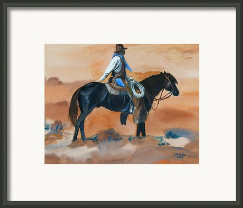 Paul On Watch Framed Print By Janina  Suuronen