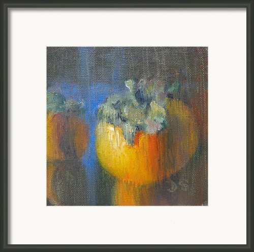 Persimmon Framed Print By Donna Shortt