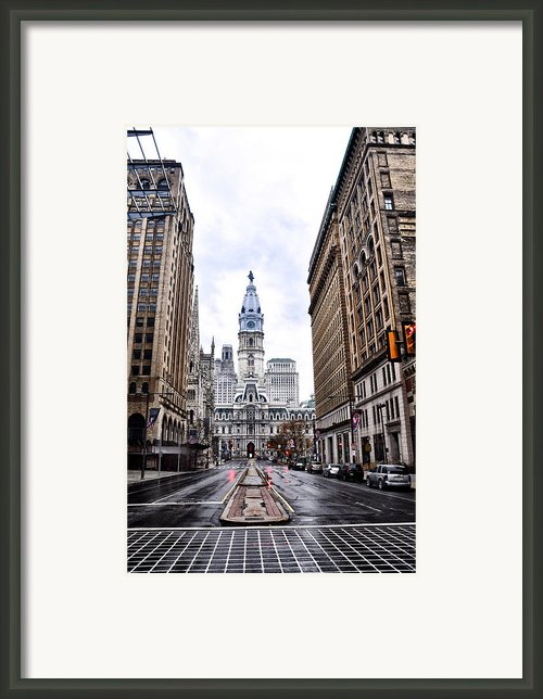 Philadelphia City Hall  Framed Print By Bill Cannon