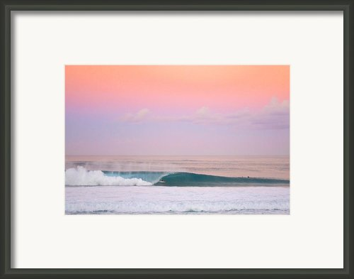 Pink Pipe Framed Print By Sean Davey