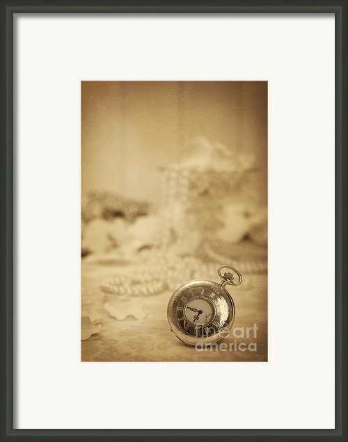 Pocket Watch Framed Print By Christopher And Amanda Elwell