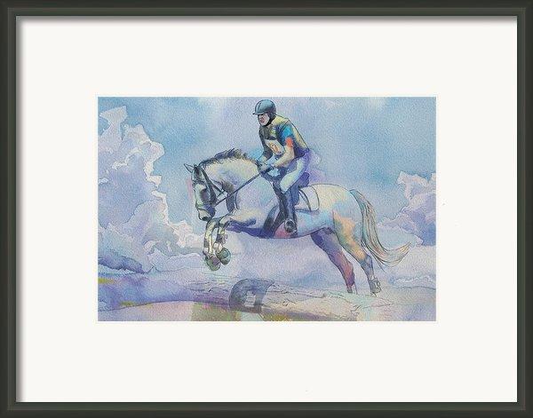 Polo Art Framed Print By Catf