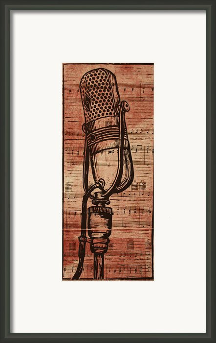 Rca 77 On Music Framed Print By William Cauthern