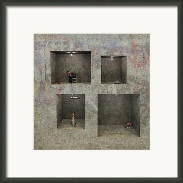 Regarding Desire Framed Print By Cynthia Decker