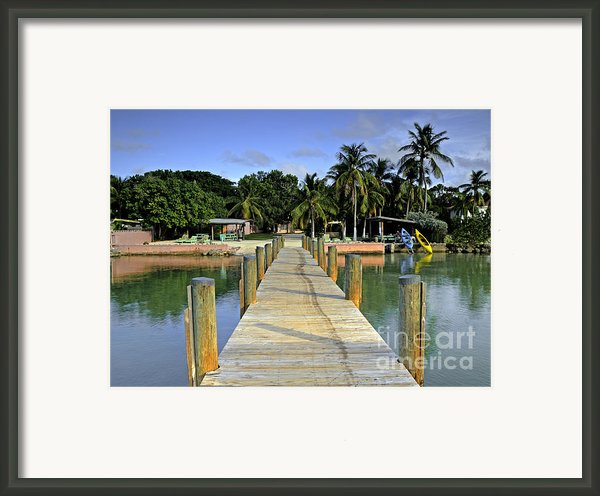 Resort Framed Print By Bruce Bain