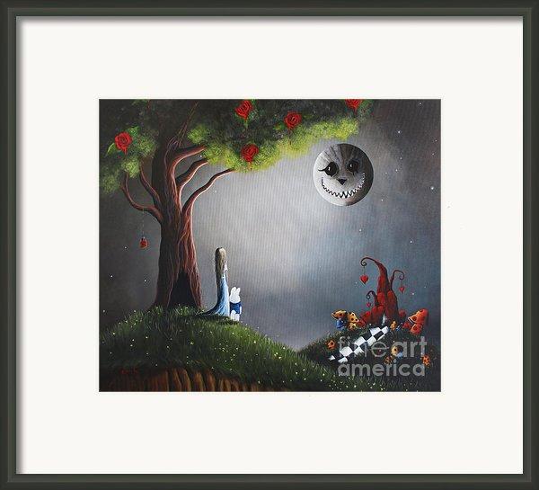 Return To Wonderland By Shawna Erback Framed Print By Shawna Erback