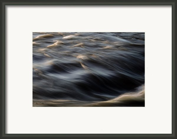 River Flow Framed Print By Bob Orsillo