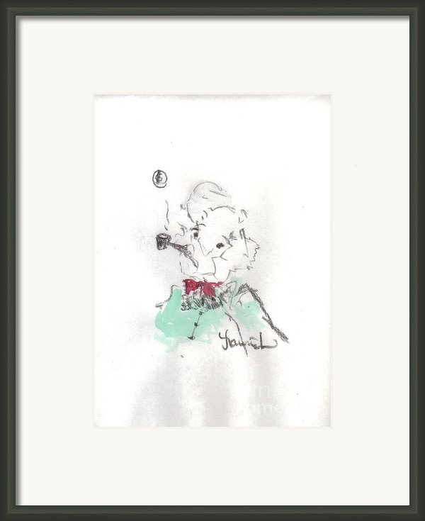 Scrooge Framed Print By Laurie D Lundquist