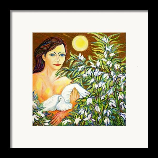 Shine Framed Print By Gunter  Hortz