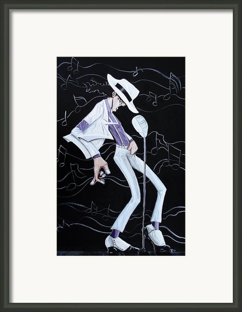 Smooth Criminal V2 Framed Print By Tu-kwon Thomas