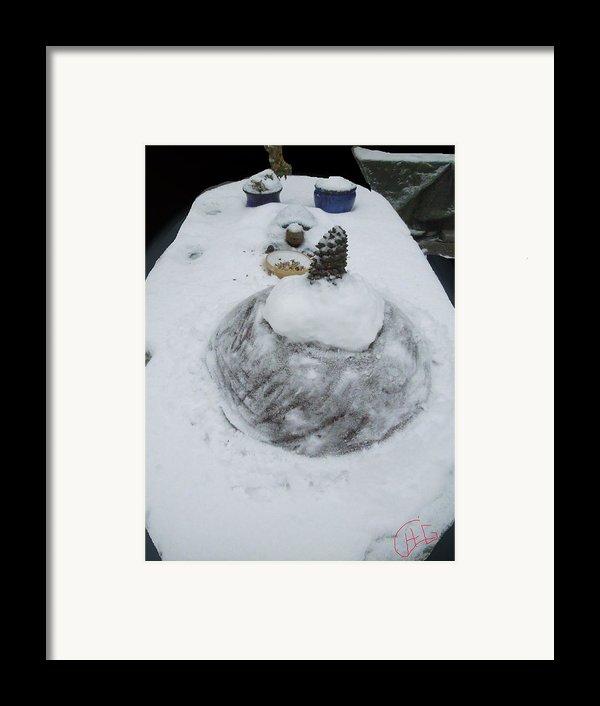 Snow Fall Serie December 2012  Framed Print By Colette V Hera  Guggenheim