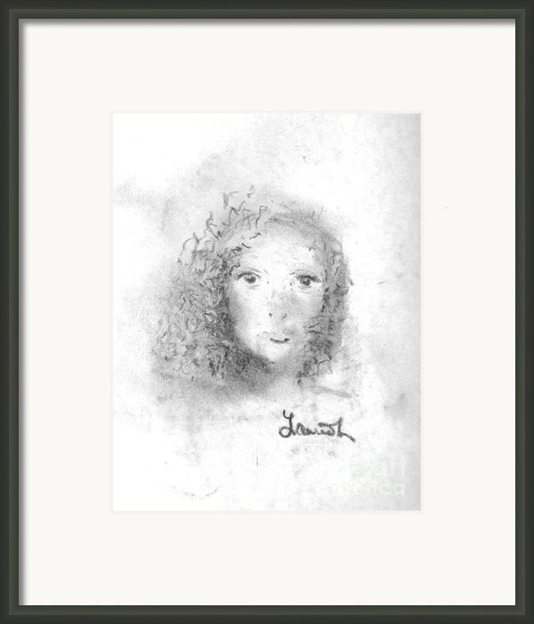 Something About Mary Framed Print By Laurie D Lundquist