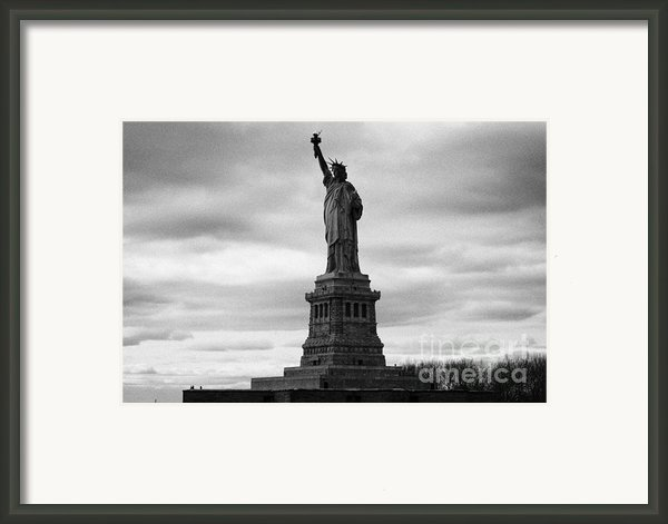 Statue Of Liberty National Monument Liberty Island New York City Framed Print By Joe Fox