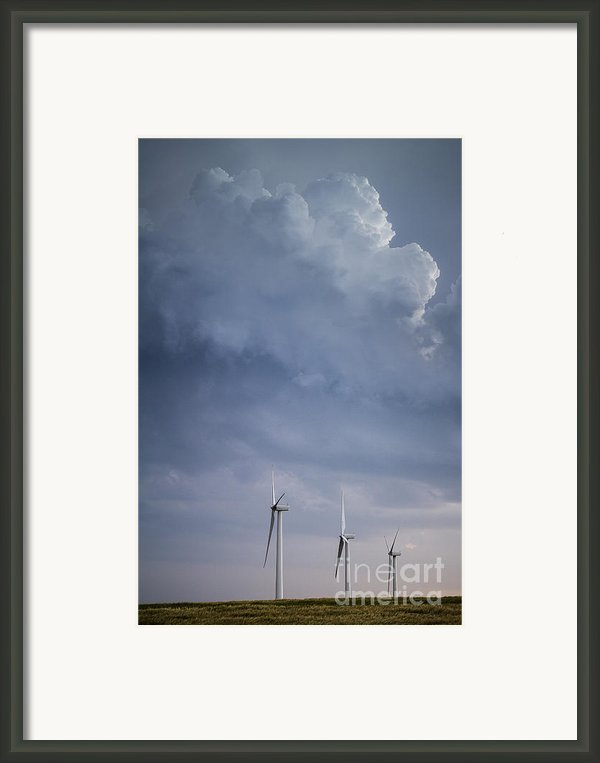 Stormy Skies Framed Print By Jim Mccain