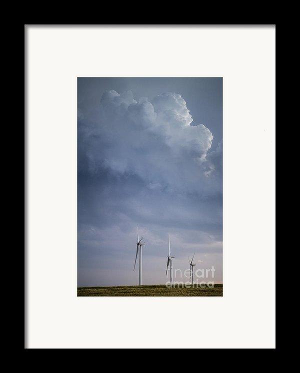 Stormy Skies Framed Print By Jim Mccain
