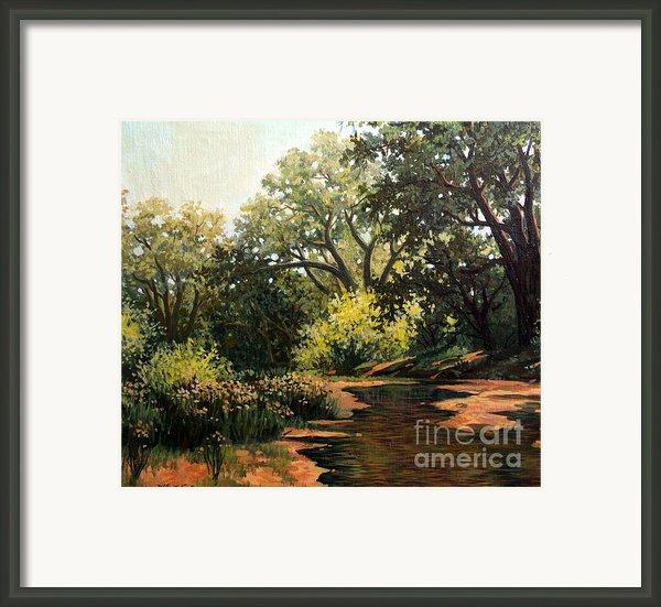 Study Of Michael Stack  Framed Print By W  Scott Fenton