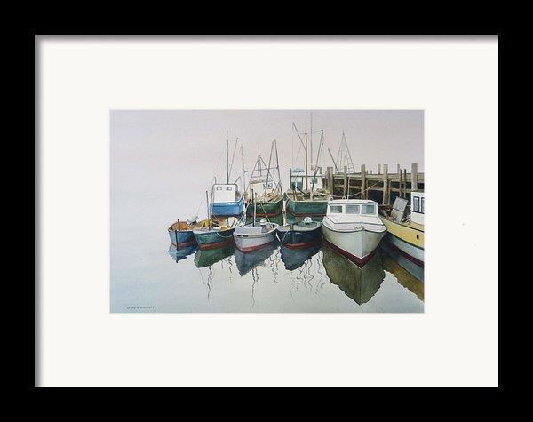 Summer Fog Framed Print By Karol Wyckoff