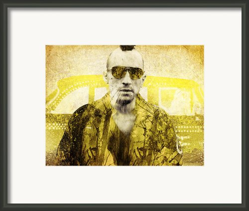 Taxi Driver Framed Print By Filippo B