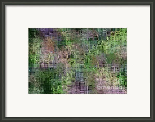 Technology Abstract Framed Print By Michal Boubin
