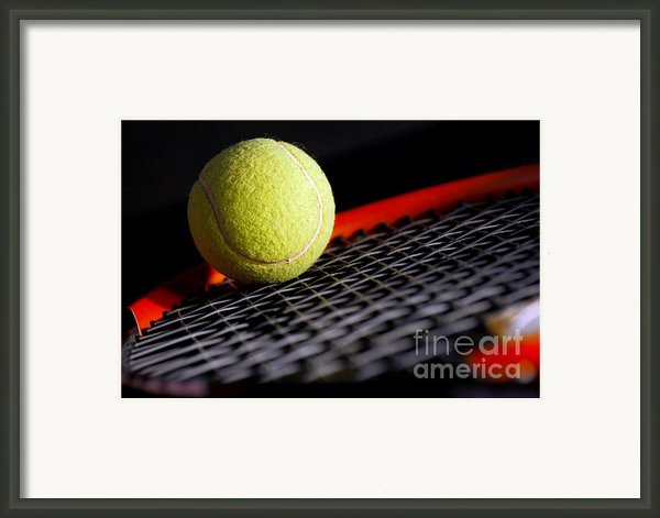 Tennis Equipment Framed Print By Michal Bednarek