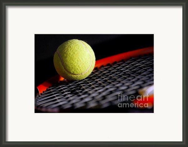 Tennis Equipment Framed Print By Michal Bednarek