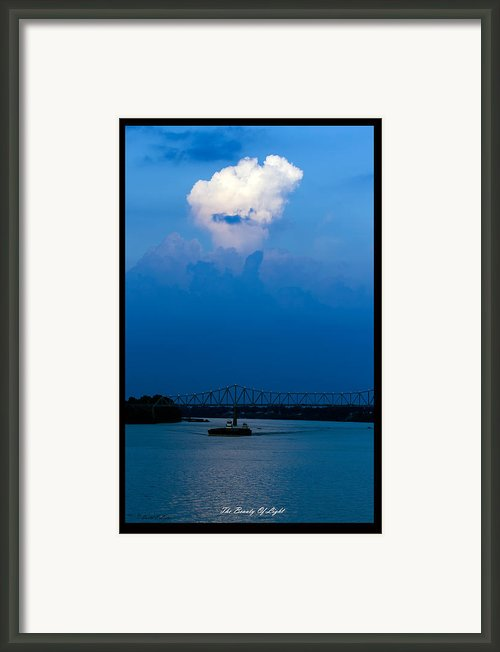 The Beauty Of Light Framed Print By David Lester