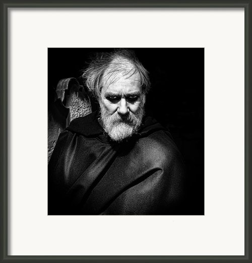 The Mad Monk Framed Print By John Adams